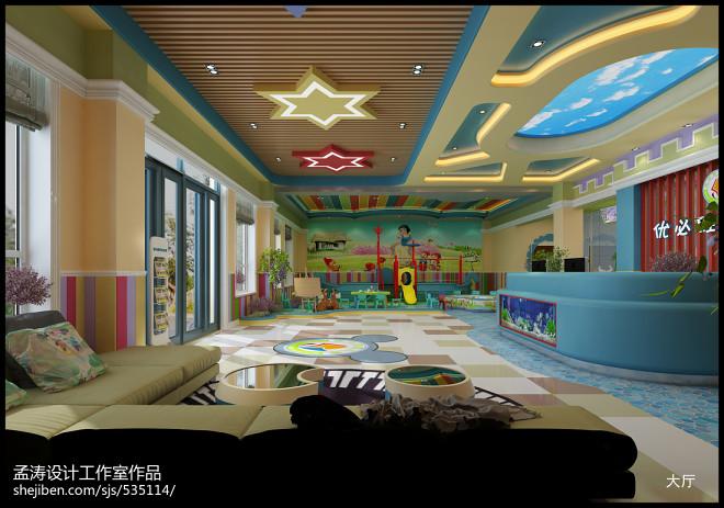 优必胜幼儿园装修案例-哈尔滨幼儿园效