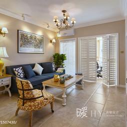 优雅法式客厅装修