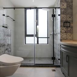 卫浴玻璃淋浴房