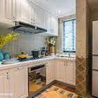 地中海风格样板间厨房设计