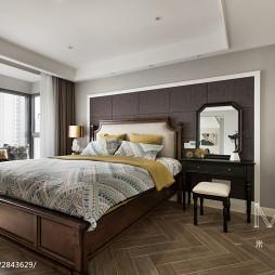 低奢卧室床头柜