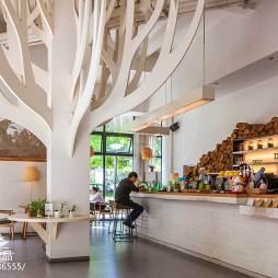 甘蓝咖啡店室内布置