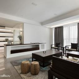現代中式客厅装修
