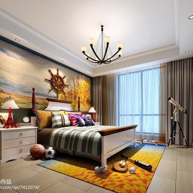 300平现代装饰艺术风格