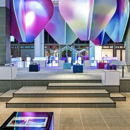 工业风展示空间地台设计