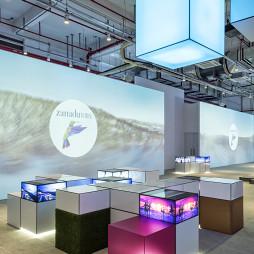 工业风展示空间设计