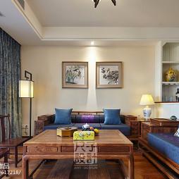 典雅新中式客厅家具