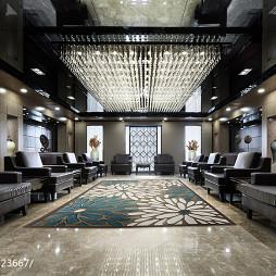 办公会所大厅地毯