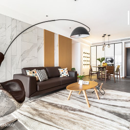 时尚现代风格客厅地毯
