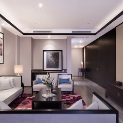 建屋国际酒店客厅装修
