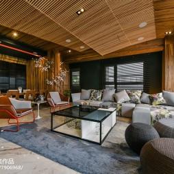 现代豪宅客厅设计