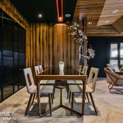 温润现代风餐厅设计