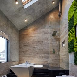 别墅阁楼卫浴设计