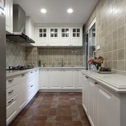 美式廚房地磚拼花