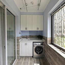 法式阳台洗衣机