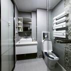 简洁北欧卫浴设计