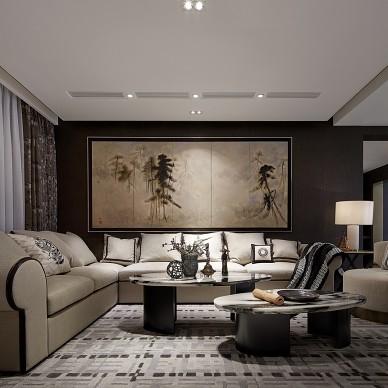 东南亚风格别墅客厅