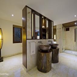 生态度假酒店卫浴