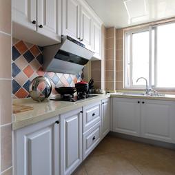 简洁厨房布置