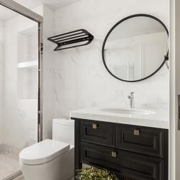 实木卫浴柜图片