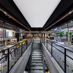 星空书店楼梯效果图