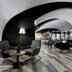书店太空咖啡馆设计案例