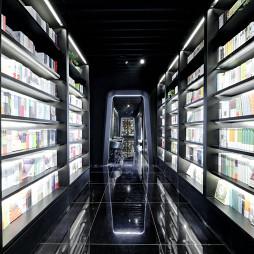 科技感书店过道设计