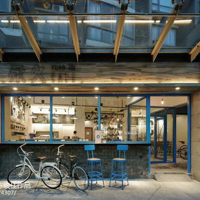 魔都的怀旧单车迷都爱在这里喝咖啡_2716147
