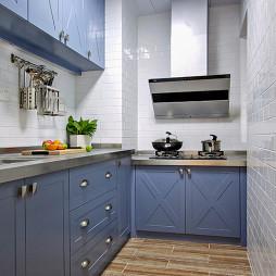 美式蓝色橱柜