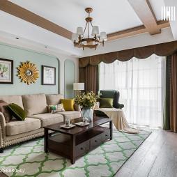 美式清新客厅设计