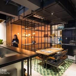 美式休闲餐厅室内设计