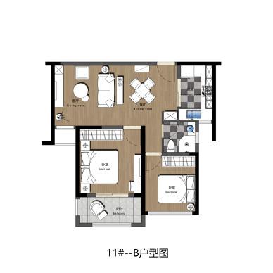 55㎡小户型住宅改造_2723778