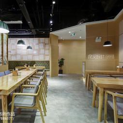日式餐厅就餐区布置