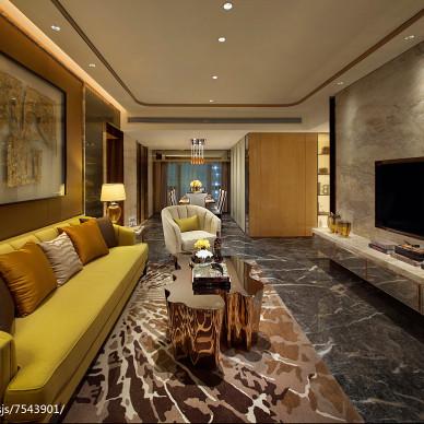 香港洪德成设计|前海东岸花园样板房 3_2724130