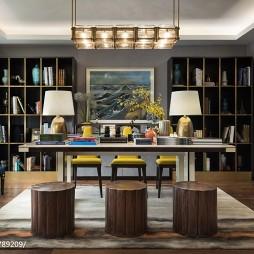 样板间书房设计案例