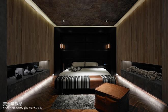 暗黑系创意卧室装修
