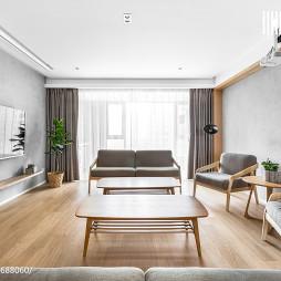 180㎡日式客厅设计图