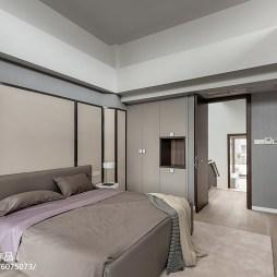 舒适卧室布置