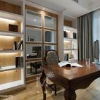 家居书房实木书桌