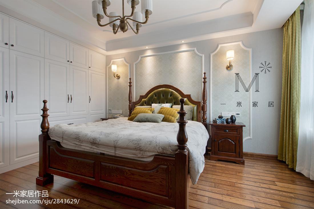 三居室卧室效果图