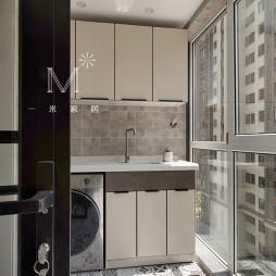 都市美式阳台洗衣台