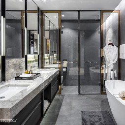 现代展厅卫浴间装修