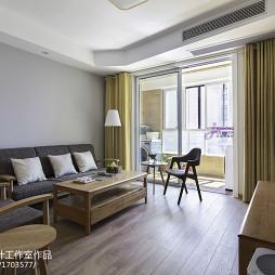 日式二居室客厅设计