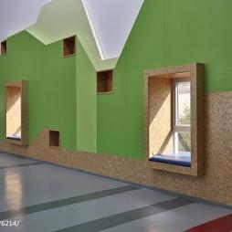 小学教学楼创意墙面设计