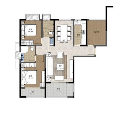 住宅---简欧_2732063