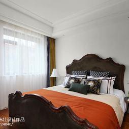 质朴大气美式卧室