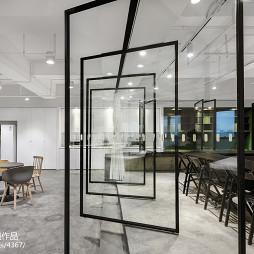 办公空间旋转门设计