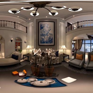 复式楼美式-最新设计案例