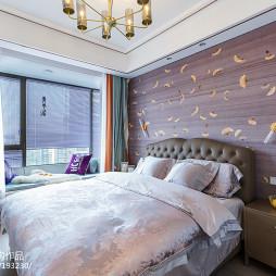 小户型卧室床头背景墙