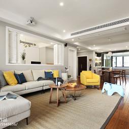 温馨沙发背景墙设计